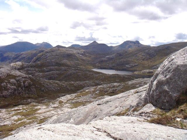 Ridge of Creag-mheall Mor