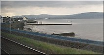 J3979 : Approaching Holywood Station from the Bangor direction by Eric Jones