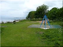 NO4102 : Swings above the beach by James Allan