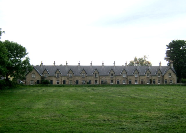Almshouses in Staindrop