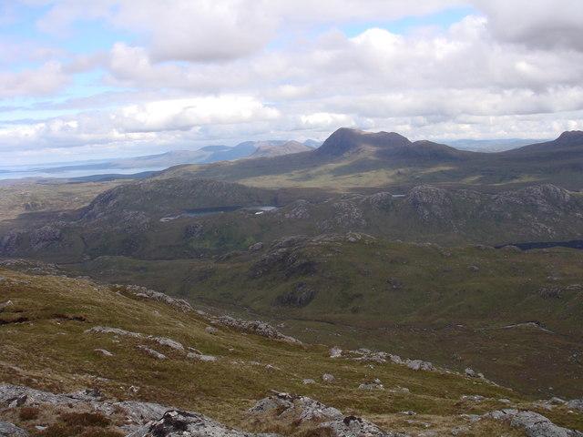North of Creag-mheall Mor