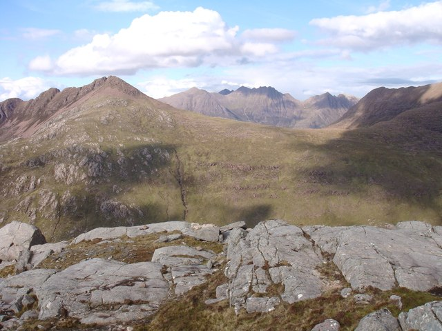 View from the unnamed ridge