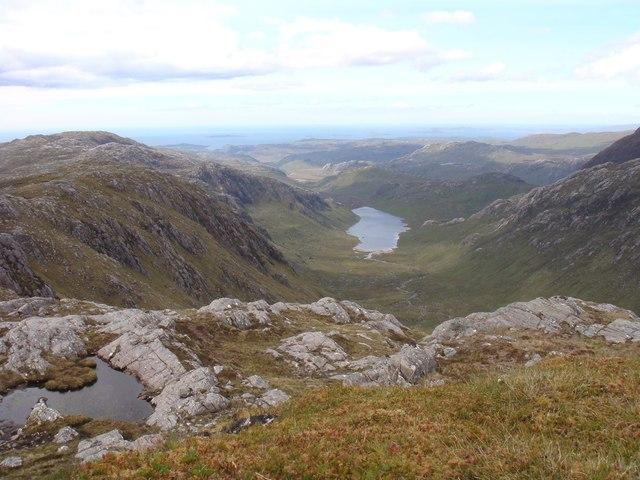Summit of the unnamed ridge