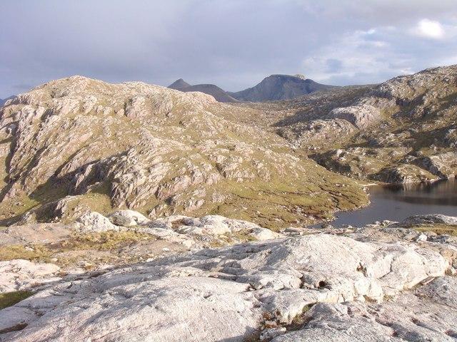 Southeast end of Lochan na Bearta