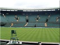 TQ2472 : Inside No.1 Court at Wimbledon Tennis Club by David Hillas