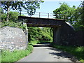 TL1769 : Dismantled railway bridge by JThomas