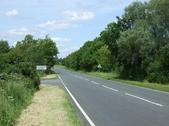 B645 towards Stonely