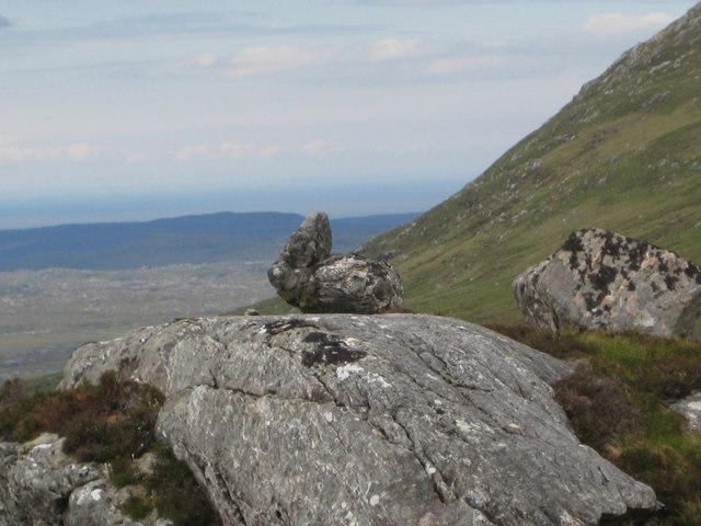 Close-up of Rabbit Rock