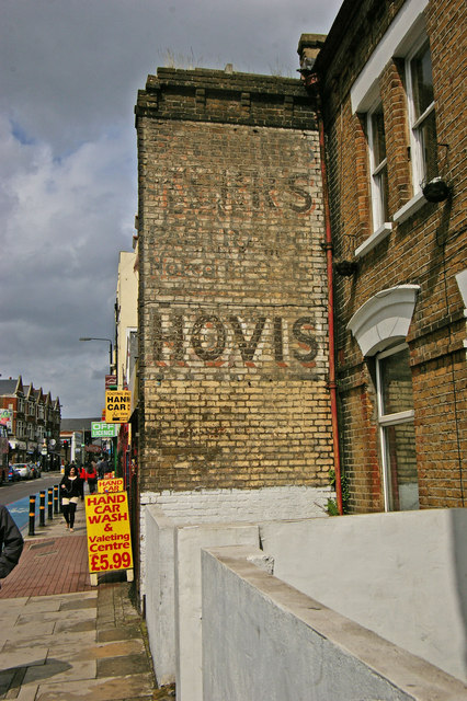'Ghost sign', Upper Tooting