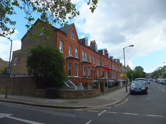 Houses in Rosehill Road, Wandsworth