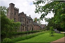 ST5545 : Wells : The Bishops Palace by Lewis Clarke