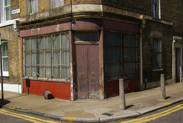 Old corner shop, near Columbia Road