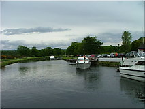 NH6543 : Caledonian Canal at Tomnahurich by Dave Fergusson