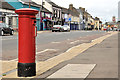 J1576 : Pillar box, Crumlin by Albert Bridge