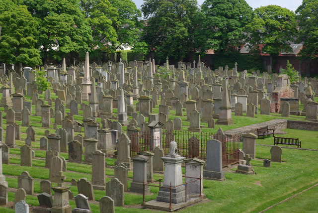 Arbroath Abbey - burial ground