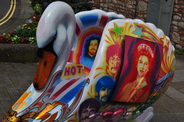 Wells : Jubilee Swan