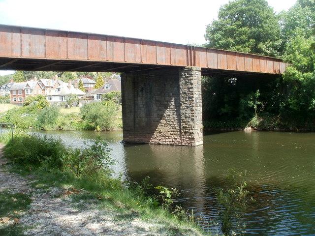Former railway bridge, Usk