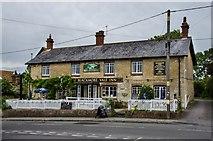 ST7719 : Marnhull: The Blackmore Vale Inn by Eugene Birchall