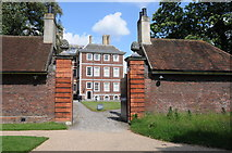 TQ1773 : South view of Ham House by Philip Halling
