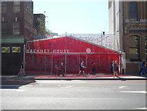 TQ3382 : Hackney House, Shoreditch High Street E1 by Robin Sones