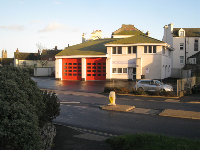 Teignmouth's new Fire Station