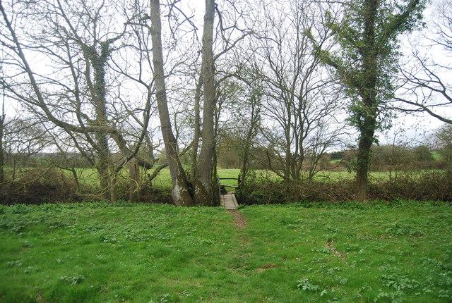 Footbridge, High Weald Landscape Trail