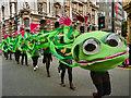 SJ8398 : Caterpillar, Cross Street by David Dixon