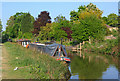 ST7766 : Canal Boats moored on the Kennet & Avon by Wayland Smith
