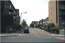 TQ3778 : Isle of  Dogs:  Napier Avenue by Dr Neil Clifton