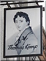 TQ3203 : Sign for The Thomas Kemp, St. George's Road, BN2 by Mike Quinn