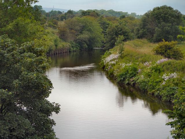 River Irwell, Warth
