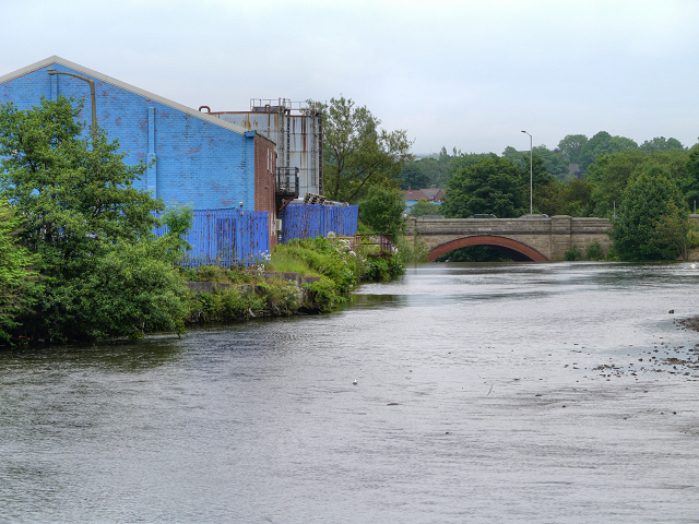 River Irwell, Warth Bridge