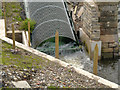 SD7909 : Hydropower Generator, River Irwell. by David Dixon