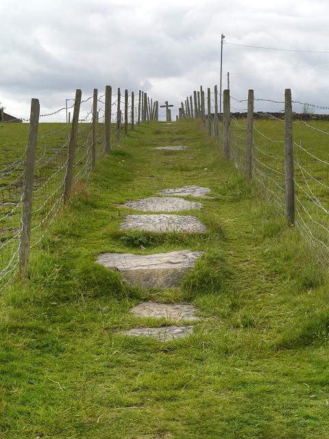 The Path from Heyrod towards Ridge Hill
