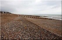 TQ7407 : The beach at Bexhill by Steve Daniels