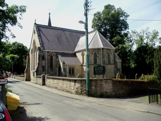 The Church of St James, Riding Mill