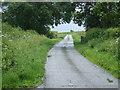 TL1885 : Church Lane heading east by JThomas