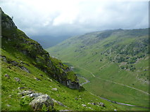 NY2712 : Looking into Langstrath by Michael Graham