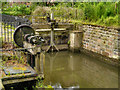 SJ8382 : Sluices, Quarry Bank Mill by David Dixon