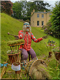 SJ8383 : Greg The Drummer, Samuel Greg's Garden by David Dixon