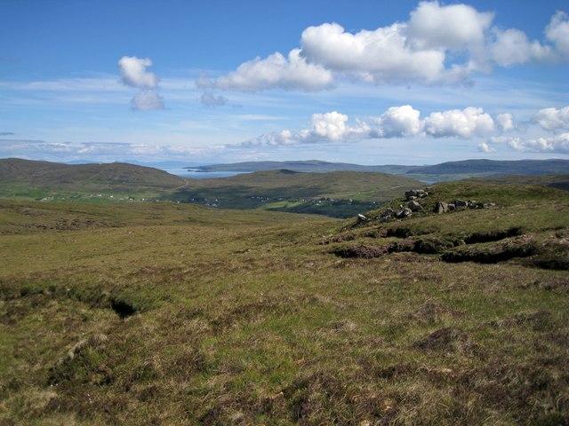 Summit view from Beinn nan Corrafidheag