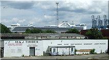 NS2776 : Former bowling arcade by Thomas Nugent