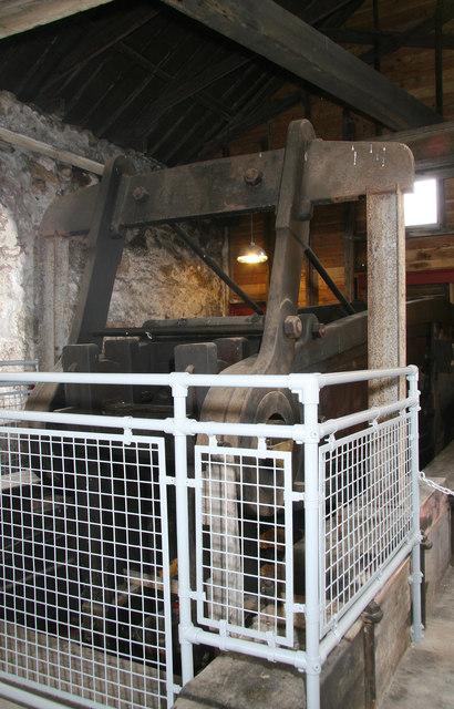 Heartlands Project - Robinsons Shaft pumping engine