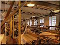 SJ8382 : Quarry Bank Mill Weaving Shed by David Dixon