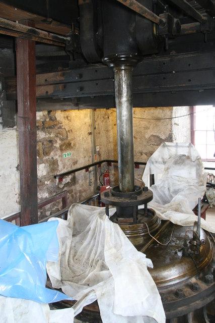 Heartlands Project - Robinson's Shaft Cornish beam engine