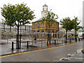 NZ3667 : South Shields Market Square by David Dixon