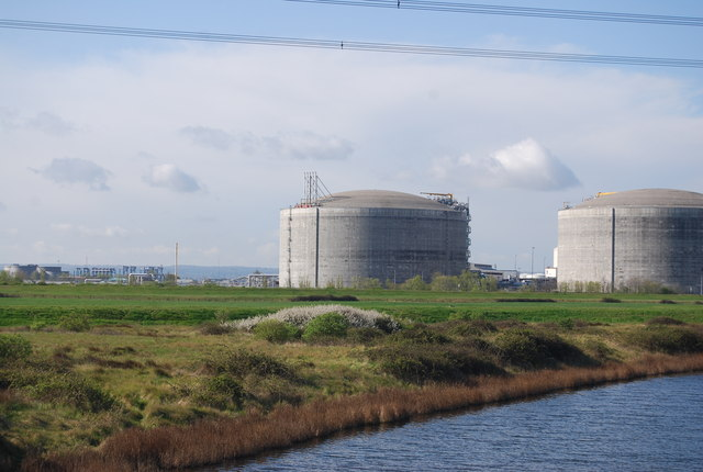 Gas storage, Isle of Grain
