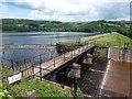 SK2592 : Agden Reservoir spillway by Graham Hogg