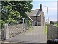 SD1781 : Diamond Jubilee Gates at Holy Trinity Church Millom by Perry Dark