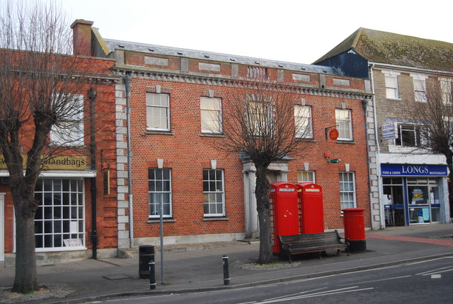 Bridport Post Office © N Chadwick :: Geograph Britain and Ireland